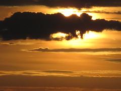 Burning sky (Alex L'aventurier,) Tags: sunset sky orange cloud contrast ciel qubec contraste nuage coucherdesoleil montmagny