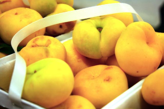 Donut Peaches at Mercier Orchards {Blue Ridge, Georgia}