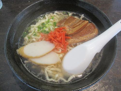 沖縄そば@我達食堂(江古田)