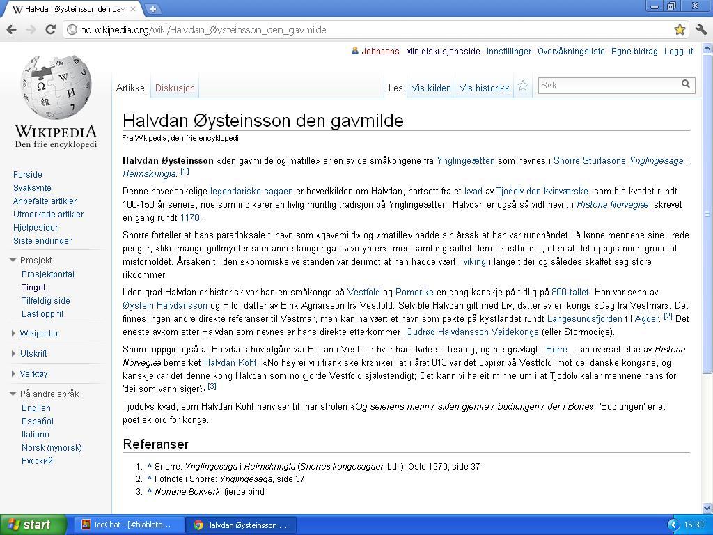mer om konge av vestfold wiki