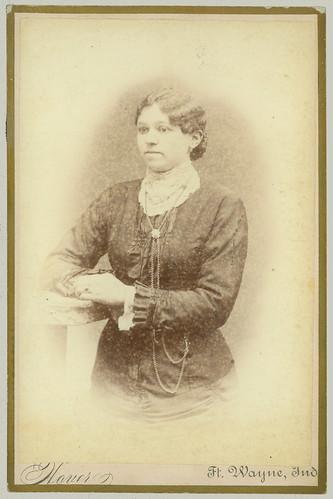 Cabinet Card woman portrait
