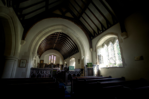 499/1000 - St Martins Church in Martinhoe by Mark Carline