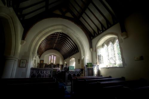 499/1000 - St Martins Church in Martinhoe by Mark Carline