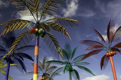 Plastik Palmiyeler