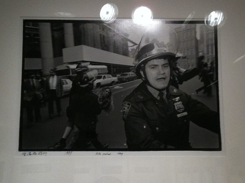 """Police protest"" by Ai Wei Wei"