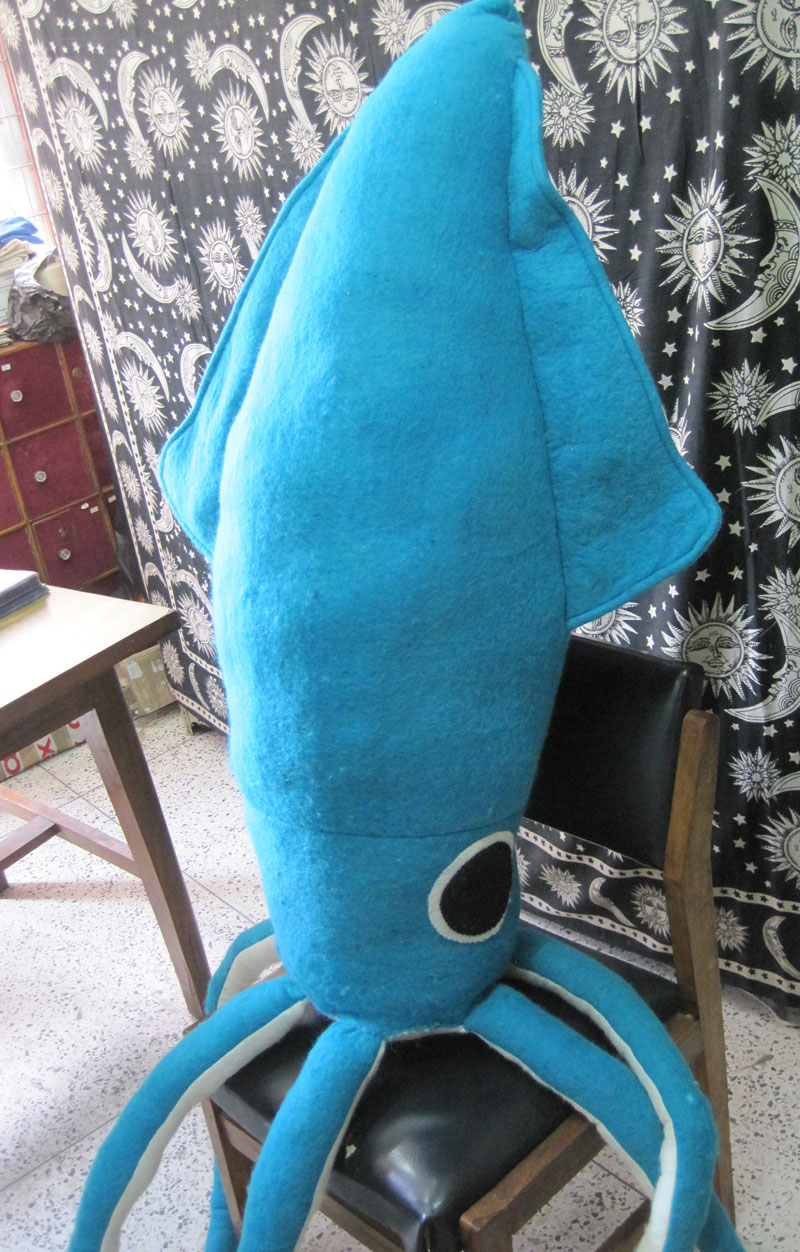 Giant Plush SQUID octopus stuffed toy kraken tentacle | eBay