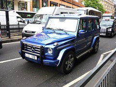 G55 (BenGPhotos) Tags: blue car mercedesbenz tuning v8 g55 spotting amg brabus worldcars l170