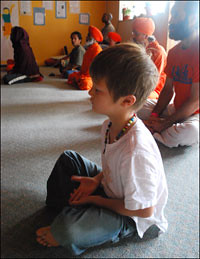 Remarkable Meditators – Tarak at six years old
