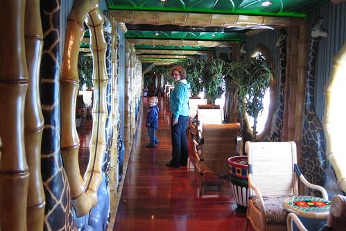 The Jungle interior promenade
