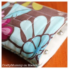 ProPoints Case brown floral 3 (TheCraftyMummy) Tags: handmade sewing weightwatchers madeit propoints
