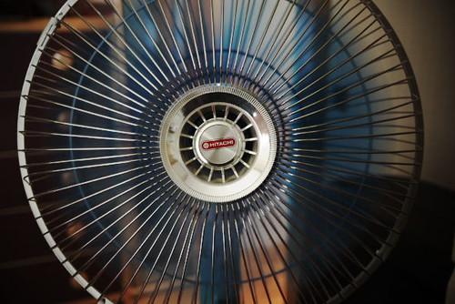Retro Electric Fan by Rollofunk