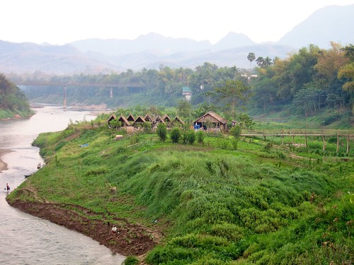 Banks of the Mekong, Laos