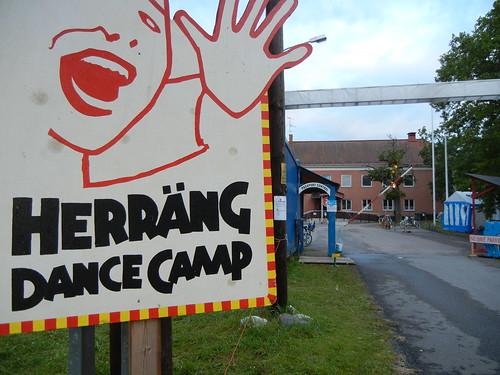 herrang dance camp entrance