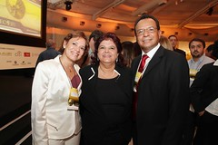 "Graciete Pedrosa, Luiza Helena Trajano ( presidente do Magazine Luiza) e Jonas Alvarenga • <a style=""font-size:0.8em;"" href=""http://www.flickr.com/photos/63091430@N08/5934352890/"" target=""_blank"">View on Flickr</a>"