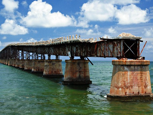 Overseas (Old) Highway/ Railroad Bridge, Spanish Harbor Key