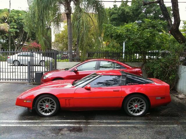 Cruze and Corvette