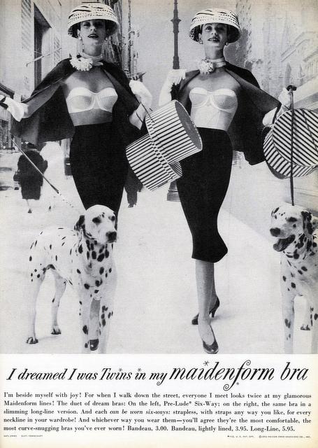 vintage bra ads post