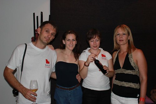 Taste of Croatia team with Iva Rudolf and Melinda Cossetto