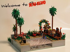 Welcome to Dead Island (~Amadgunslinger~) Tags: dead island lego fig mini minifig custom zombies playstation brickarms brickforge