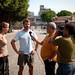 Entrevista com a TV local, em Manaus