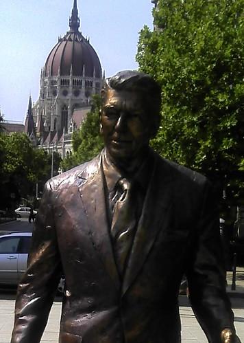 Ronald Reagan in Budapest