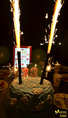 H.B,D To me <3 (Marwa Alismail) Tags: birthday cake happy 23 ميلاد يوم hbd كيكه تورته