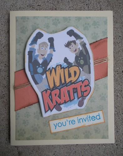 Wild Kratts Party Invite