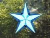 Blue Window Star