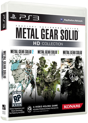 Metal Gear Solid HD Collection for PS3