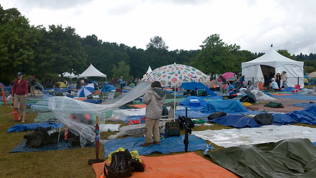Main stage tarp city