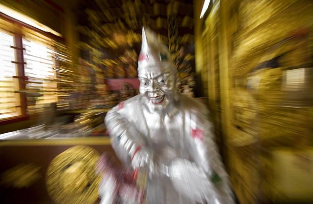 At Sapan Hin Chinese Shrine, Phuket