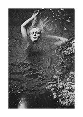 the siren (schaharazad) Tags: portrait white lake black seaweed water mud heather blond wilson siren myth