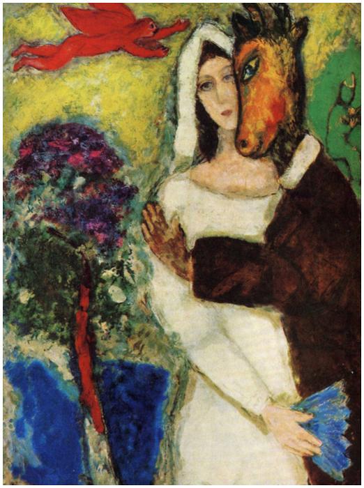 Marc Chagall, Songe d'une nuit d'été (1939)