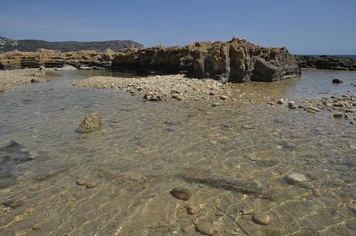 Playa de Guijarros, Jávea