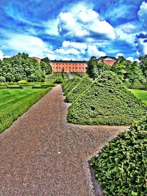 Botaniska trädgården HDR