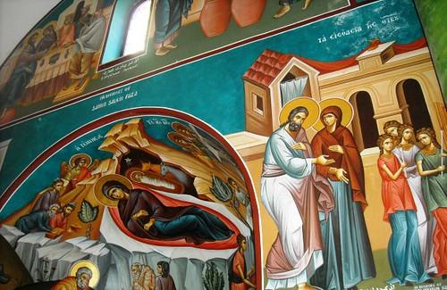 Interior de la iglesia ortodoxa