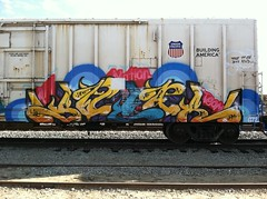 (1$WEAR) Tags: white art its train all ant nation first kind swag freight swear armn gtl