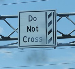 Do Not Cross the Film Strip