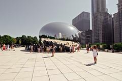 Day-time Bean. (Rares M. Dutu) Tags: park chicago nikon millenium bean tokina f4 1224 d7000 raresmdutu