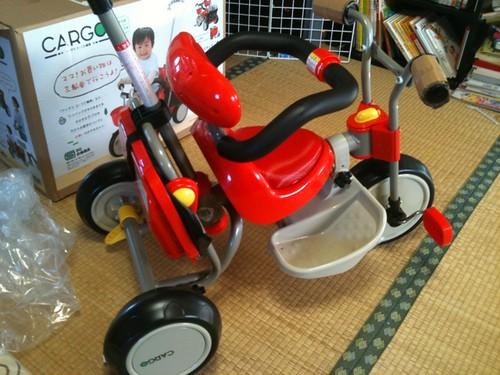 三輪車 ハンドルバー