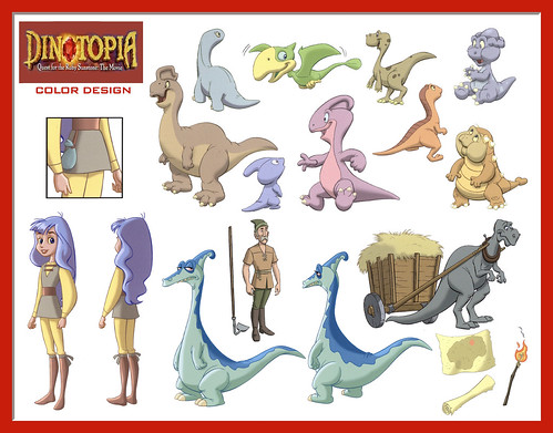 dinotopia coloring pages - photo#15