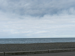Cloudy Wednesday afternoon on Bray Seafront
