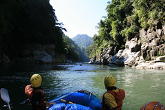 Another beautiful gorge on the Kameng river Adventure rafting and Kayaking trip