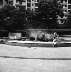 those days 000736s (cerentang) Tags: show life china street city light portrait bw white man black blur color building art history mamiya film night pencil paper point landscape photography grey one mirror crazy asia poetry day phone view shanghai time who earth expression horizon hey culture some problem where human memory question confused only present forms around value he distance past emotions tonight issue serie channel noisy feelings existence voices condition 2011 cerentang