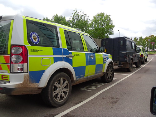 West Midlands Police Land Rover Discovery 4 Arv Opsf52 Bx11