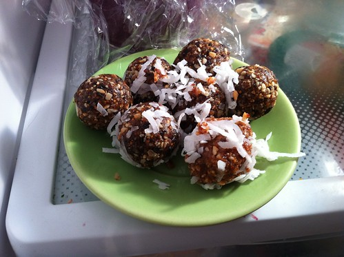 CASHEW BALLS WITH LIME AND COCONUT! by unglaubliche caitlin