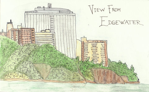 Edgewater Sketch by Maroonic
