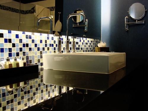Pastilhas de vidro para banheiros
