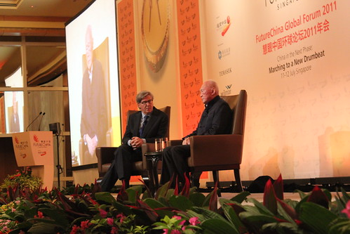 Lee Kuan Yew at Future China Global Forum