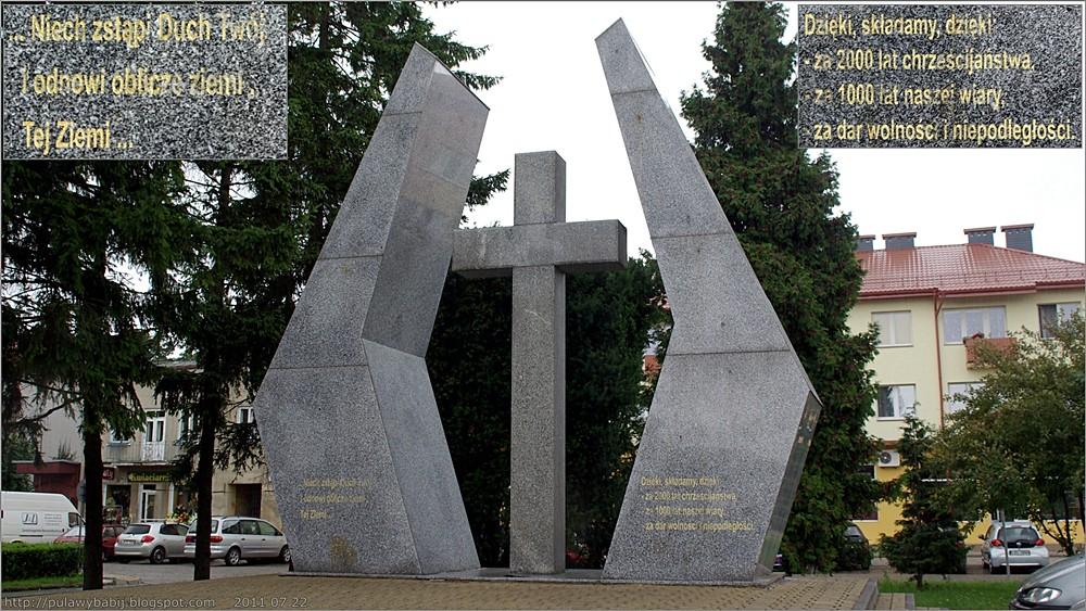 Biłgoraj Pomnik - Krzyż Jubileuszowy